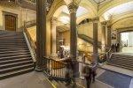 Blick in das Hauptgebäude der Kunsthalle